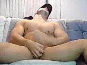 Sexy American Bodybuilder Duncan Cum Session