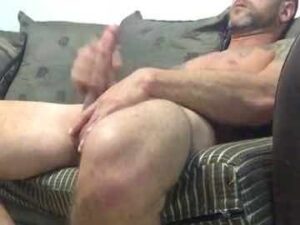Fit Guy Caught Masturbating His Big Dick