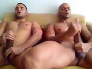 Athletic Gay Friends With Huge Cocks