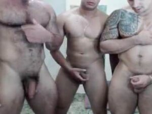 Three Muscle Men Nude Webcam Chat